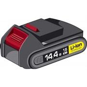 Аккумуляторная батарея 14.4 В, Li-Ion, 1.5 Ач, ЗУБР