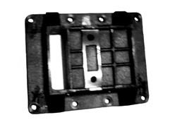 Алюминиевое основание виброплиты Masalta MS100