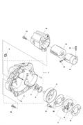 Виброизолятор триммера Husqvarna 135R (рис 13)