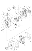 Резиновая проставка триммера Husqvarna 135R (рис 1)