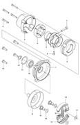 Крышка сцепления триммера Husqvarna 143R II (рис 1)