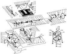 Вал установки высоты пильного станка Энкор Корвет-11 (рис.100)