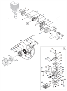 Стартер триммера Alpina vip 31 (рис 29)