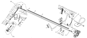 Кожух защитный триммера Baumaster BT-8925X (рис 5)