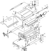 Узел защитного кожуха рейсмусового станка Энкор Корвет 21 (рис.3)