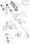 Втулка триммера Castelgarden XB10JEL (рис 9)