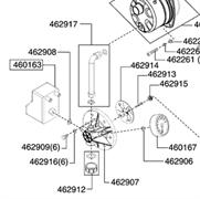 Шланг насосной станции AL-KO HW 802 INOX (112459)(с 03/2008) рис.(462917)