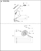 HEXAGON NUT спасательного бензореза Husqvarna POWER CUTTERS K 770, 2017-11 (9678091-01) (рис.12)