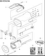 SCREW ITXSCM электрического резчика Husqvarna POWER CUTTERS K 4000, (2018-03) (9670798-01) (рис.3)