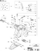GASKET спасательного бензореза Husqvarna POWER CUTTERS K 770, 2017-11 (9678091-01) (рис.27)