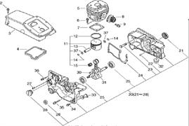 БОЛТ Ш.В. 5*20 бензореза ECHO CSG680 (рис.50)