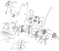 Гибкий вал культиватора TEXAS El-Tex 1000 (рис.63) - фото 9817