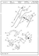 Трос газа с ручкой культиватора TEXAS Hobby 300 B (рис.118)