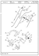 Фреза в сборе культиватора TEXAS Hobby 300 B (рис.142)