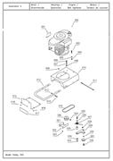 Шкив для двигателя культиватора TEXAS Hobby 370 TG (рис.020)