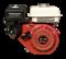 Двигатель GX 160 конусный вал для генераторов (длинна вала 7 см) - фото 31197