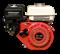 Двигатель GX 160  вал с резьбой для мотопоп - фото 7539